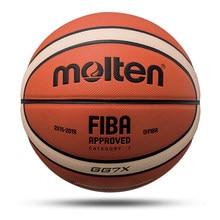 Ballon de basket-Ball en cuir PU, taille officielle 7/6/5, pour l'extérieur, intérieur et entraînement, pour hommes et femmes, nouvelle collection