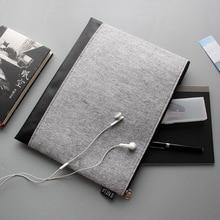 А4 многофункциональная сумка-конверт для хранения данных офисный стационарный короткий чехол папка на молнии сумка penicl сумка папка для файлов только сумка