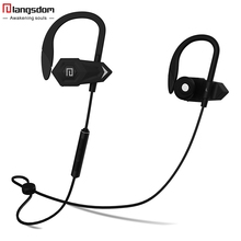 2016 New Langsdom BHOOK Wireless Bluetooth Sports Headphone Stereo Bass Running In Ear Earphone Headset with Mic Original Box