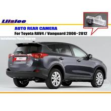 Samochodowa kamera tylna do Toyota RAV4 Vanguard 2006 ~ 2012 rewers NTST PAL CAM tanie tanio Liislee CN (pochodzenie) Plastikowe + Szkło Drutu Pojazd backup kamery Z tworzywa sztucznego