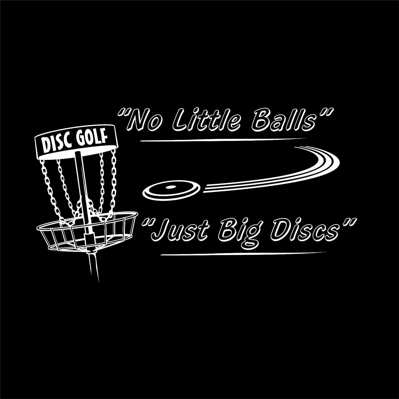 c7c784867 Cool T-Shirts Best Selling Men No Little Balls - Just Big Discs - Disc  Golfer Shirt - Frisbee Golfer - Frolf - Folf T-shirt