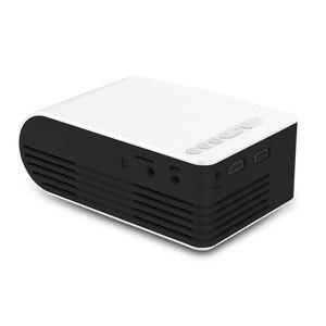 Image 4 - חדש YG210 בית מיקרו מקרן LED מיני מקרן נייד 1080 P HD