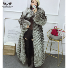 Tatyana Furclub Real Fur Coat Winter For Women Natural Slive
