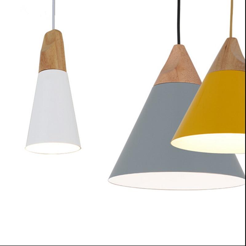 Pendiente lámparas de techo luces skrivo diseño de madera y aluminio restaurante bar café comedor llevó.jpg