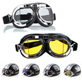 New Sell Steampunk Gothic Goggles Flying Scooter Helmet Glasses Steampunk Goggles Glasses Welding