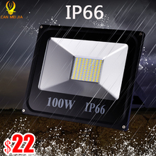 Led Floodlight 10W 30W Led Reflector 100w Led IP66 Waterproof Led Flood Light 200W 300W LED Spotlight Street Lamp 220V Light