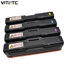 Цветной тонер-картридж, совместимый для Ricoh Aficio SP C220S C221SF C222DN C240DN C240SF SPC220 222 SPC240 лазерный копир многоразового использования