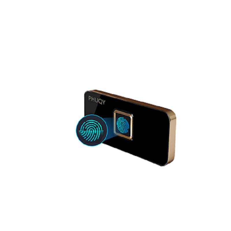PHUQY Mini Anti-vol d'empreintes digitales serrure porte serrures tiroir coffre-fort armoire casier