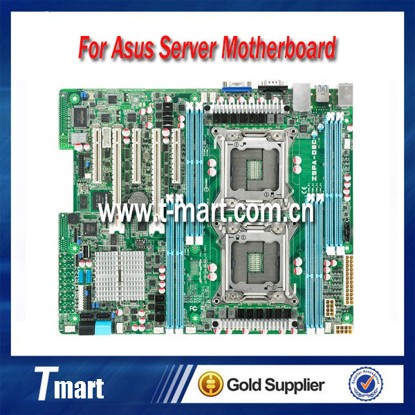 100% working server motherboard for asus Z9PA-D8C LGA2011 system mainboard fully tested and perfect quality