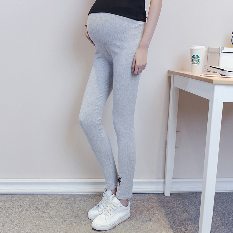 Pregnant Women Maternity Leggings Pants Pantyhose Stockings New Pantyhose Adjustable High Elastic Leggings 8D Pregnancy zwangers