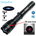 UniqueFire 1508 IR 850nm Flashlight Designed For Hunting 38MM Lens Waterproof Invisible Zoomable Torch Free Shipping