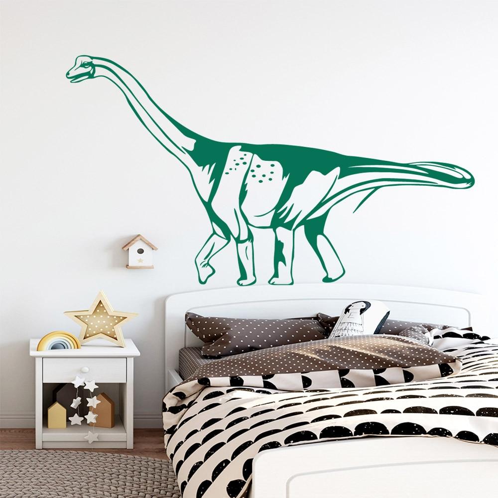 Dinossauro bonito Adesivo Decorativo Decoração Da Sua Casa À Prova D' Água Para O Restaurante de Cozinha Estilo Nórdico Decoração de Casa