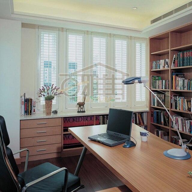 Custom Wood Blinds Wooden Door Curtain Living Room Ventilation Folding  Window Bedroom Shutters Wardrobe