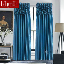 Luxury Valance font b Curtains b font for font b Window b font Customized Ready Made