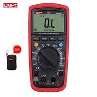 UNI T UT139C Digital Multimeter Auto Range True RMS Meter Handheld Tester 6000 Count Voltmeter Temperature Test Transistor
