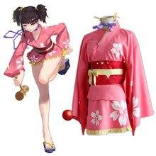 Anime Kabaneri Of The Iron Fortress Cosplay Costumes Mumei Cosplay Costume Kimono Halloween Party Koutetsujou No Kabaneri