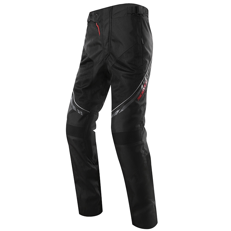 Scoyco P027-2 Motorcycle Protective Pants Racing Trousers Sports Riding Windproof Wears Motorbike with CE Kneepad M-XXXL Black scoyco mens motorcycle pants racing trousers winter summer p028