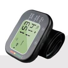 Портативный цифровые наручные крови Давление монитор Здравоохранение электронный Автоматический Сфигмоманометр кровяного давления метр устройство