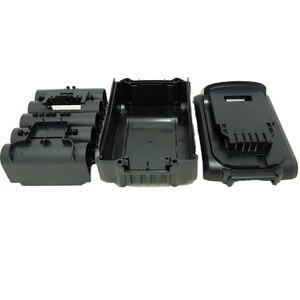 Image 4 - כלים סט עבור Dewalt 18V 20V סוללה החלפת פלסטיק מקרה 3.0Ah 4.0Ah DCB201,DCB203,DCB204,DCB200 ליתיום סוללה כיסוי חלקי
