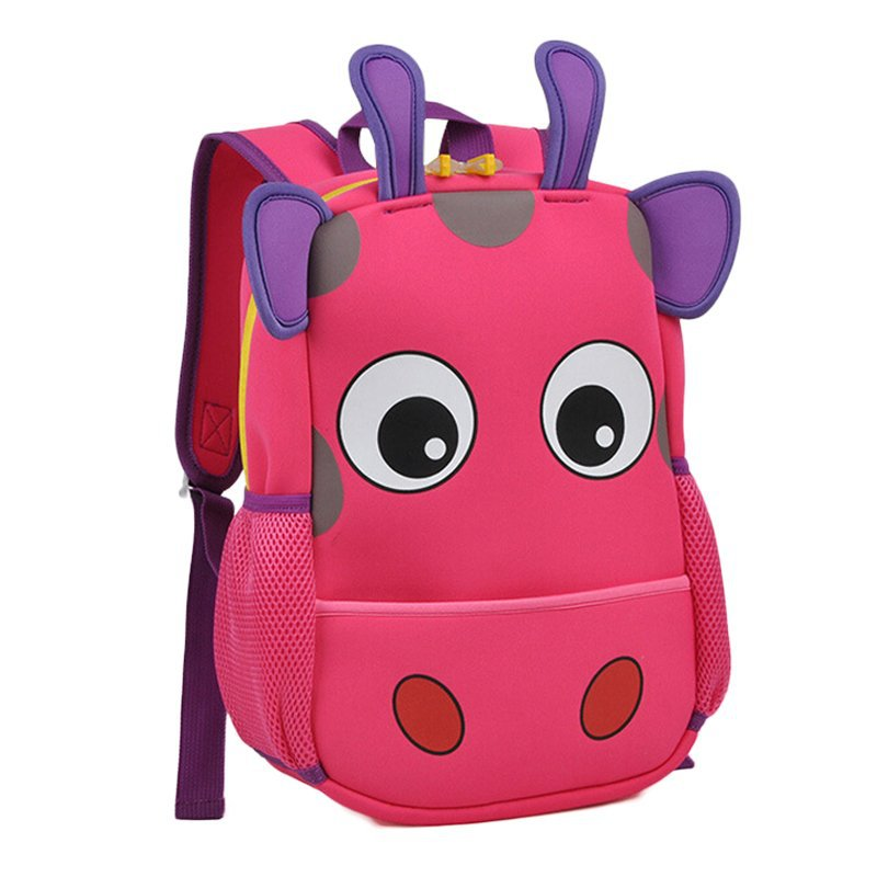 Aliexpress Buy Preschool Baby Cute Cartoon Book Bags Children 3D Giraffe Shape School Bag Backpack For Students From Reliable Tool