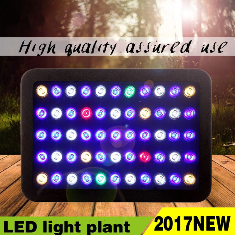 LED Plant Grow Light 165W 55 leds Full Spectrum plants growth lamp Hydroponics system flowers vegetable tent Garden Aquarium