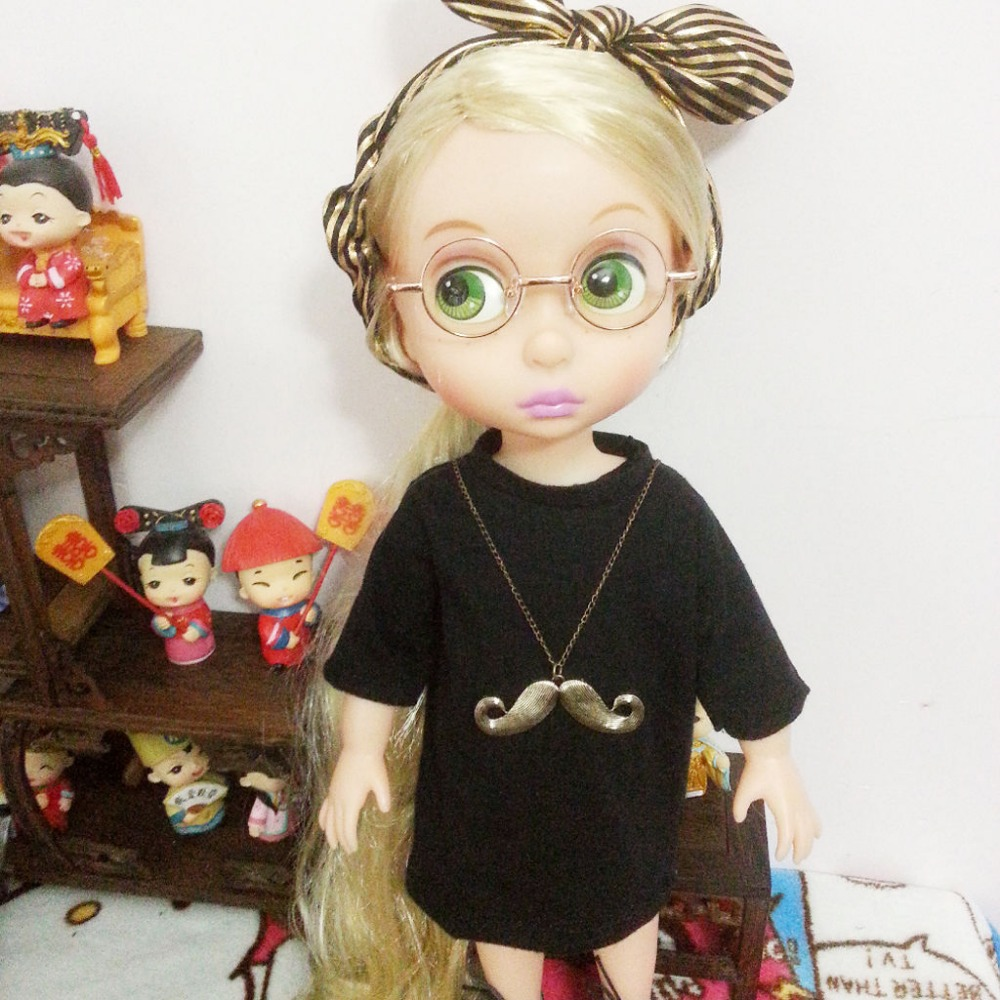 wamami 2016 New Glod Round Doll Glasses For Neo Doll Free Shipping