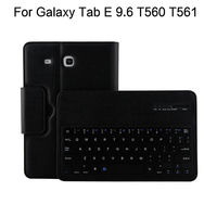 Case For Samsung Galaxy Tab E 9.6 T560 T561 Tablet Cover Wireless Bluetooth keyboard Protective PU Leather SM T560 SM T561 Case