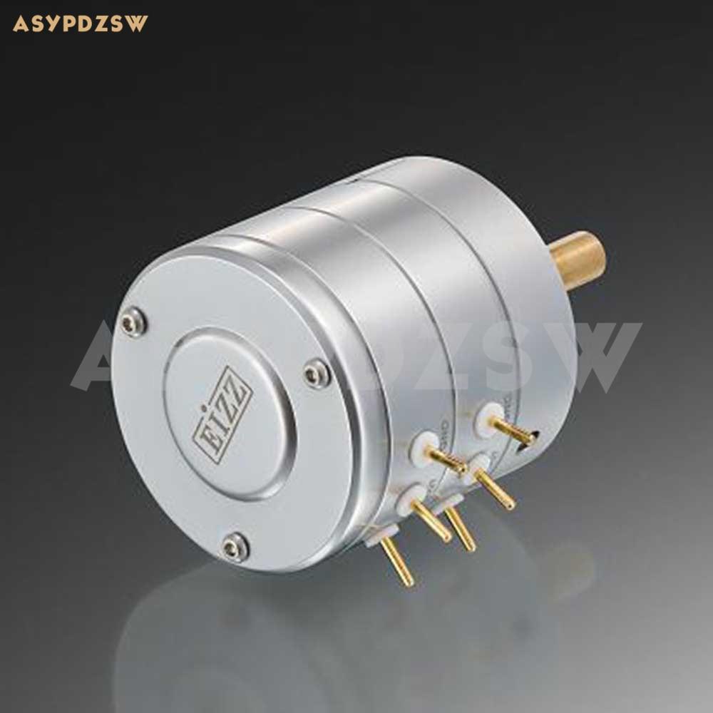 Verbeterde versie EIZZ 24 Stap Hoge precisie eindversterker Stereo stepper volume potentiometer 10 k/25 k/50 k/100 k/250 k-in Versterker van Consumentenelektronica op  Groep 1