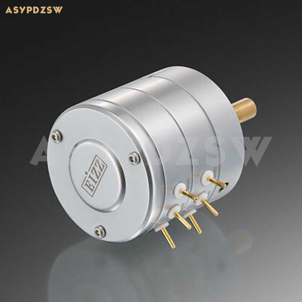 Version améliorée EIZZ 24 étape haute précision amplificateur de puissance stéréo potentiomètre de volume pas à pas 10 K/25 K/50 K/100 K/250 K-in Amplificateur from Electronique    1