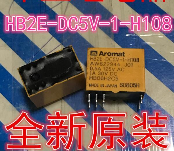 NEW relay HB2E-DC5V-1-H108 HB2E-DC5V-1  8PIN hot new nc4d jp dc5v nc4d jp dc5v nc4d jp dc5v nc4d dc5v 5vdc 5v dip14