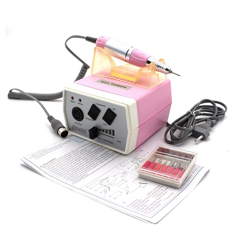 35 W EN400 Pro clavo eléctrico máquina de perforación de Arte de uñas de manicura pedicura archivos eléctrico manicura taladro y accesorio - 2