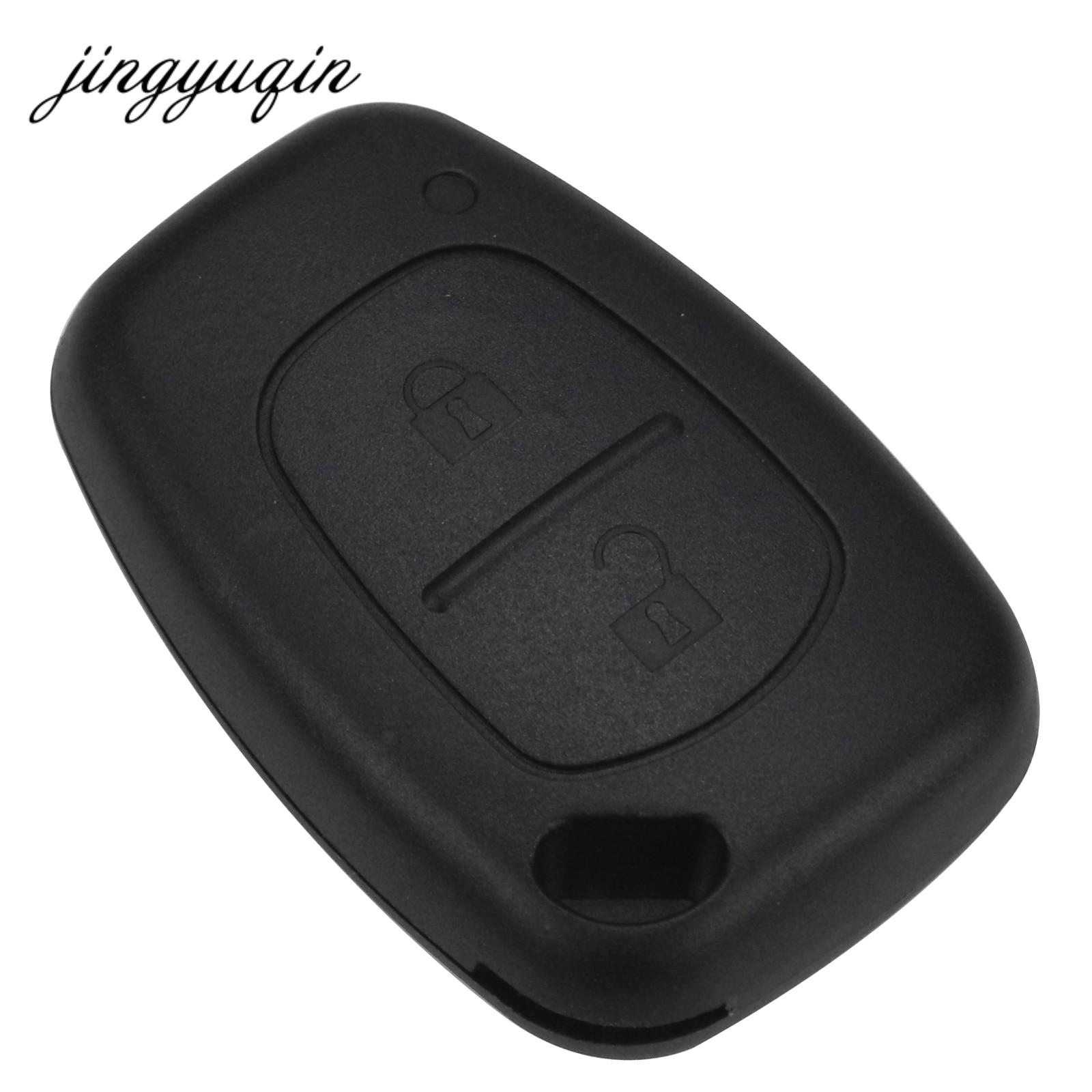 jingyuqin 2 Button Remote Car Key Shell for Renault Trafic Vauxhall Opel Vivaro Nissan Primastar Fob Case цены онлайн