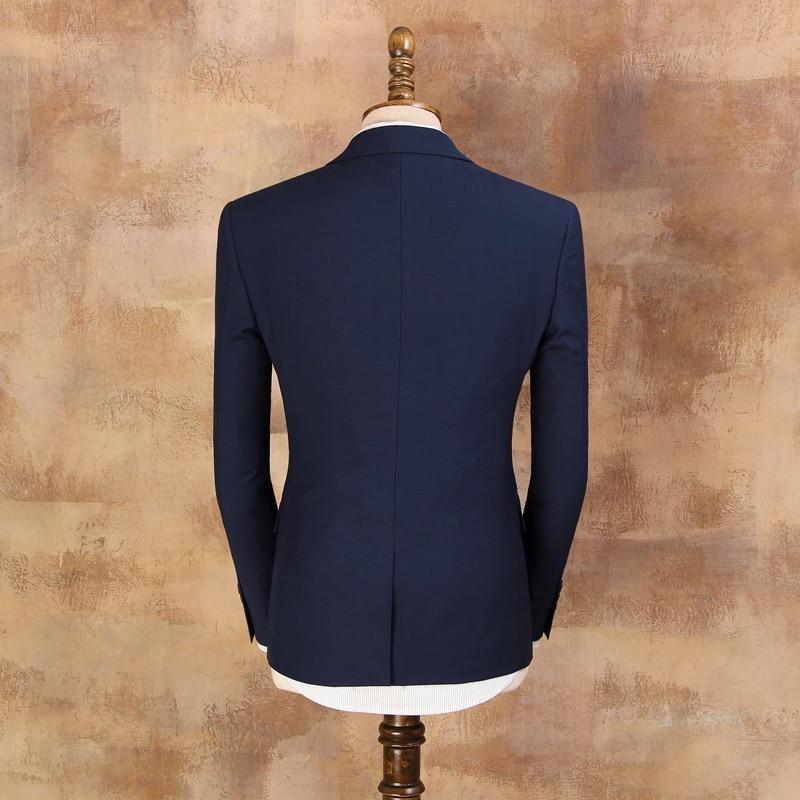 Kostume të cilësisë së mirë për burra 2019 Mashkull Blazer i - Veshje për meshkuj - Foto 5