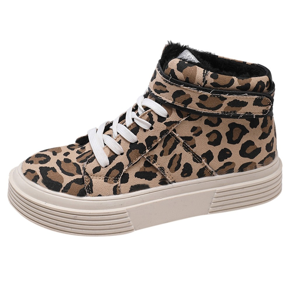 Women-Fashion-Leopard-Thick-Canvas-Flat-Short-Boots-Round-Toe-Casual-Shoes-Fashion-Simple-shoes-woman(5)