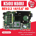 send the cable +K50IJ Motherboard rev:2.1/2.3 For ASUS X5DIJ,K60IJ,K40IJ,X8AIJ laptop Motherboard K50IJ Mainboard test 100% OK