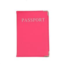 Nowe mody podróże paszport okładka kobiety Solid jakości pu skórzany posiadacz paszportu Multifunctioncal go za granicą Passport Case tanie tanio Akcesoria podróżne Pokrowce na paszport Stałe 9 8 cm 14 2 cm z huxiaomei Masz