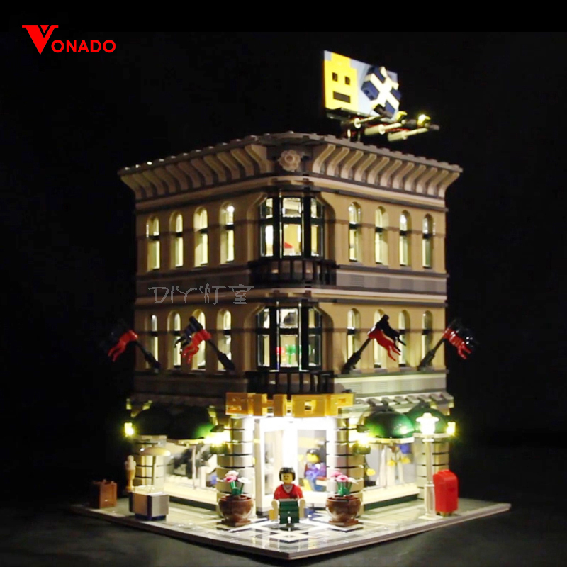 Led Light For Lego 10211 Building Blocks Grand Emporium Compatible 15005 Bricks Creator City Street toy( light with Battery box)Led Light For Lego 10211 Building Blocks Grand Emporium Compatible 15005 Bricks Creator City Street toy( light with Battery box)