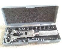 Envío Gratis Pro Reparación Del Reloj Caso Desenrosque la Tapa del Abrelatas Wrench Tool Kit de reparación de relojes reloj fabricante de rolex