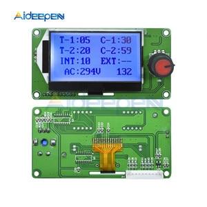 Image 4 - 100A Digital LCD Spot Welder Welding Machine Double Dual Pulse Encoder Time Control Weld Module Board Electronic Controller
