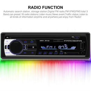Image 2 - Car Radio Autoradio 1 Din Bluetooth SD MP3 Player Coche Radios Estereo Poste Para Auto Audio Stereo Carro Samochodowe Automotivo