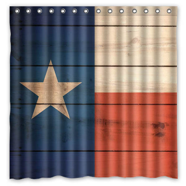 Texas Star Shower Curtain Waterproof Mildewproof Bath Curtain Polyester Bathroom  Decor Products With Hook 71*71 Inch In Shower Curtains From Home U0026 Garden  ...