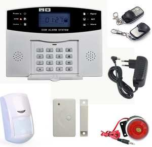 Home LCD/PSTN Burglar Alarm System, Auto-dial Phone Line Security Products  DZX-AS05