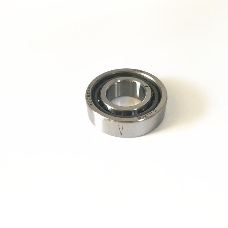 1pcs 7015 7015C 2RZ P4 75x115x20 Sealed Angular Contact Bearings Speed Spindle Bearings CNC ABEC-7 1pcs 71822 71822cd p4 7822 110x140x16 mochu thin walled miniature angular contact bearings speed spindle bearings cnc abec 7