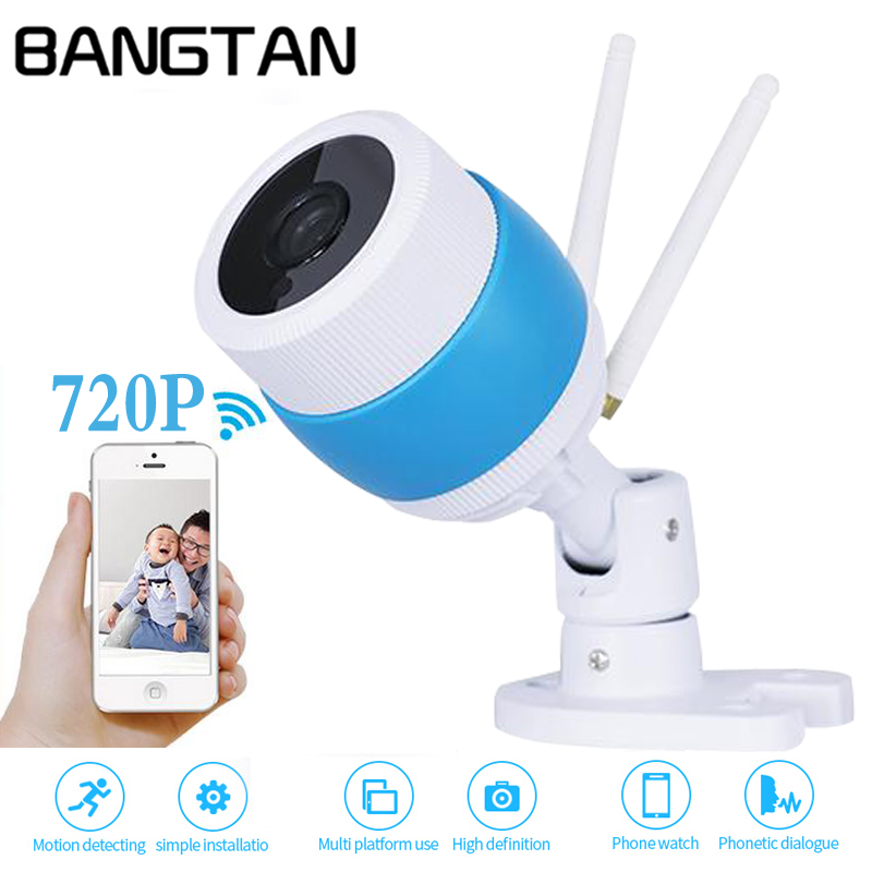 Bullet IP Camera Outdoor WiFi Network CCTV Surveillance Camera 720P /960P HD Waterproof Night Vision IR-Cut Motion Detection wistino cctv camera metal housing outdoor use waterproof bullet casing for ip camera hot sale white color cover case
