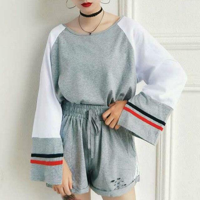Free Shipping 2018 Spring New Korean Fashion Women S Sets Hong Kong