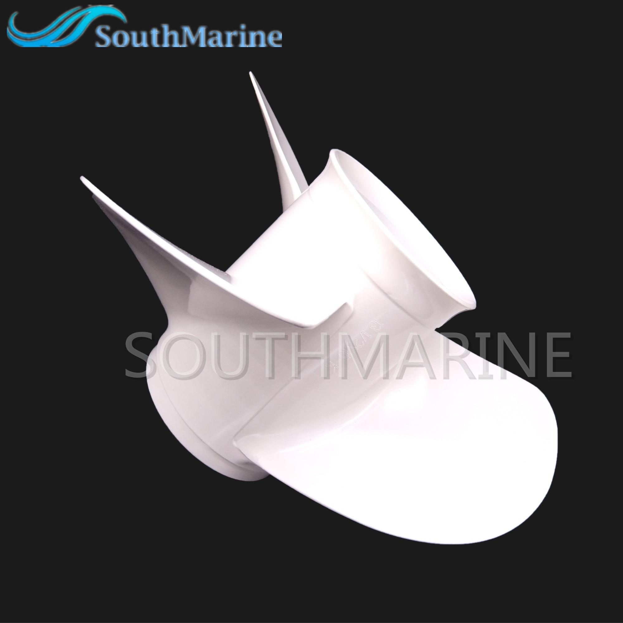 Outboard 6E5-45947-00-EL Boat Motor Aluminum Alloy Propeller 13 1/2x15-K for Yamaha 60HP 70HP 75HP 80HP 85HP 90HP 115HP 130HP