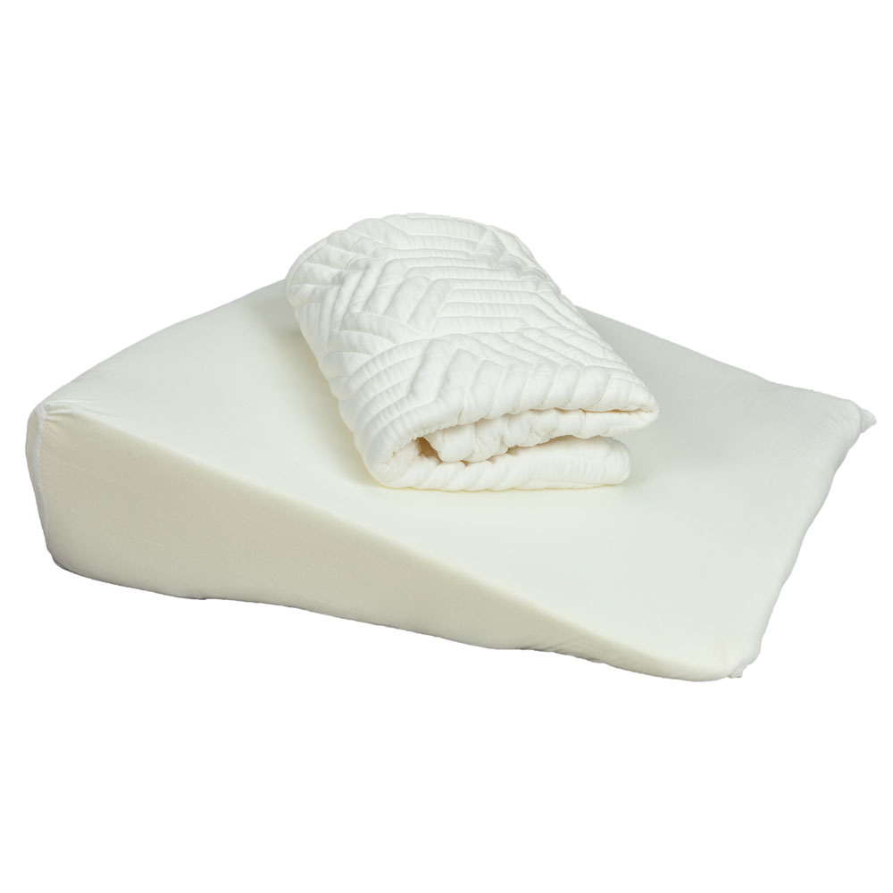 Memory Foam Wedge Pillow Bed Back Lumbar Neck Support Comfort Sleep Adjustable US Shipping-in