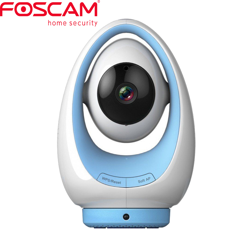 Foscam FosBaby P1 Baby Monitor Smartphone 720P IP Camera with Temperature and Humidity Sensor 8m Night Vision temperature and humidity sensor protective shell sht10 protective sleeve sht20 flue cured tobacco high humidity