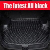 Custom made esteiras Mala do carro para Ford Edge Fuja Ecosport Fiesta Mondeo Kuga Fusão Explorador Foco 5D tapete forros
