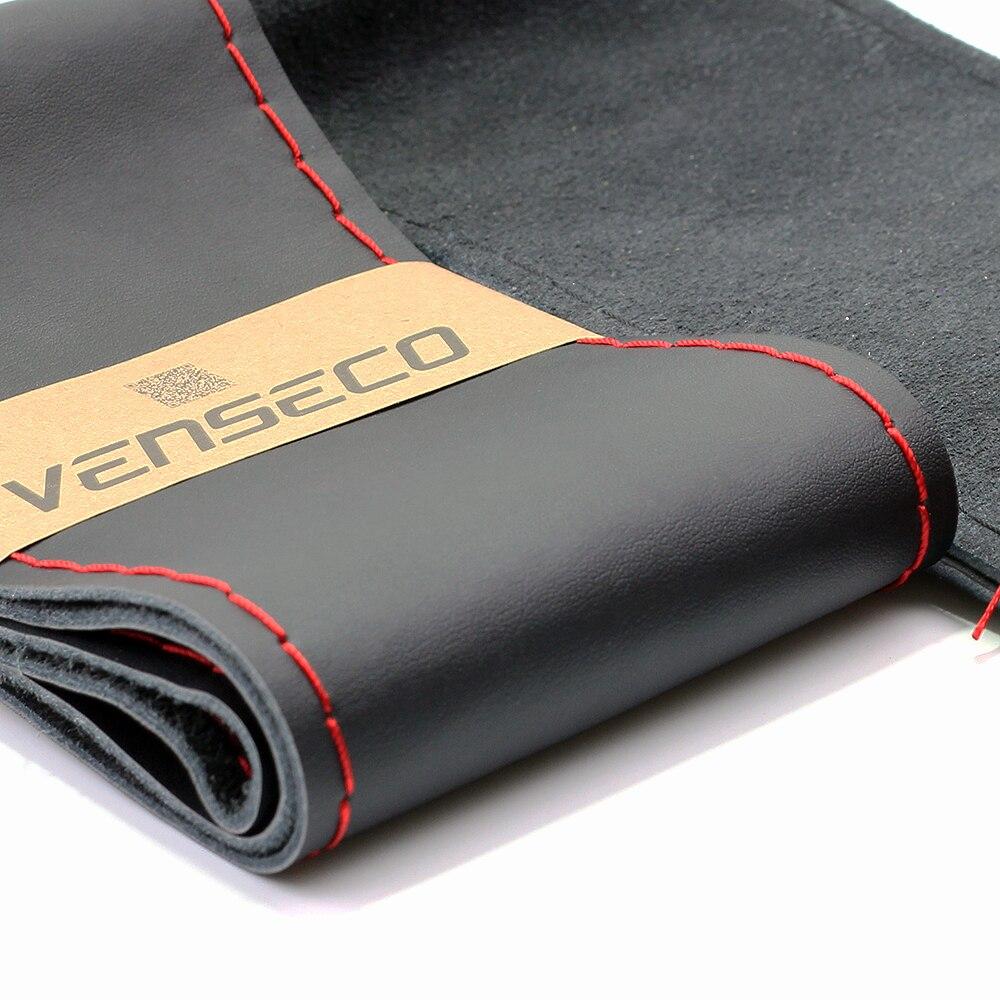 VENSECO mekana prave kožne obloge na upravljaču klasičnog DIY - Dodaci za unutrašnjost automobila - Foto 2